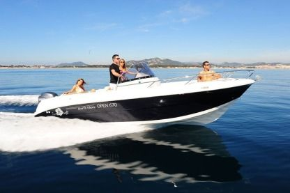 Rental Motorboat Pacific Craft 670 Open Ibiza