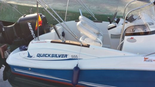QUICKSILVER 555 COMMANDER in La Pobla de Farnals, Valencia peer-to-peer