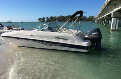 Rental Motorboat Hurricane Sun Deck 187 Anna Maria