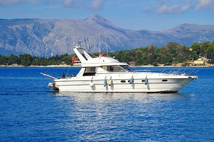 Rental Motorboat Princess 45 Corfu