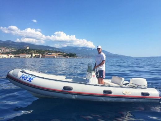 Charter rIB in Senj peer-to-peer