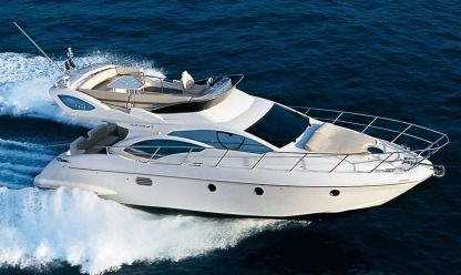 Charter Motorboat Azimut 43 Fly Marbella