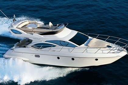 Rental Motorboat AZIMUT 43 Fly Marbella