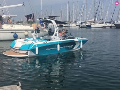Miete Motorboot Super Air Nautique G21 Gruissan