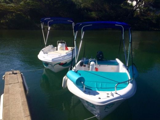 Motorboat Compass GT 400 for hire