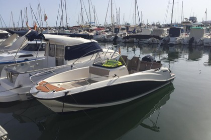 Hire Motorboat Quicksilver Activ 605 Open Torre del Mar