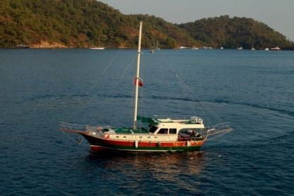 Charter Sailboat Ece Yachting Ketch Gulet Göcek