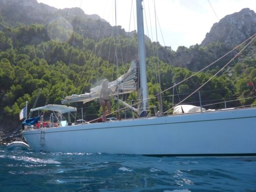 Royal Huisman One Off 53'  Sloop/cutter a Ibiza