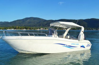 Charter Motorboat Gs Nautica Open 630 Chalkidiki