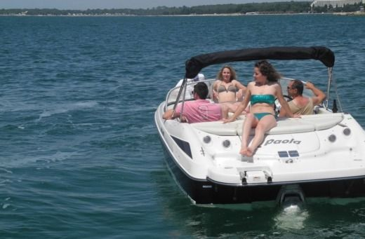 Motorboat Starcraft Paola for rental