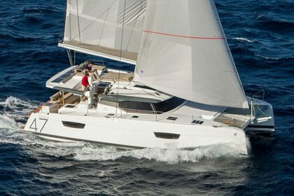 Hire Catamaran FOUNTAINE PAJOT SAONA 47 Annapolis