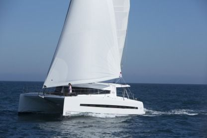 Rental Catamaran Bali 4.5 Open Space Ibiza