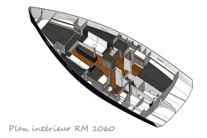 Location Voilier FORA MARINE Rm 1060 Lorient