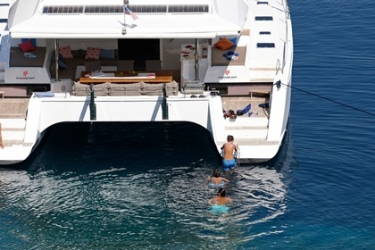Charter Catamaran FOUNTAINE PAJOT 58 Leeward Islands