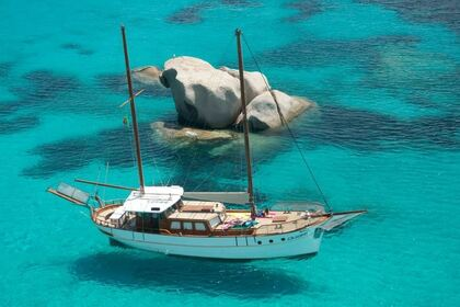 Hire Sailboat Veliero 62 La Maddalena