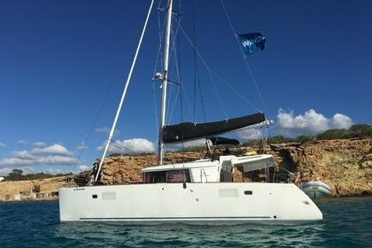 Location Catamaran LAGOON 450 Ibiza
