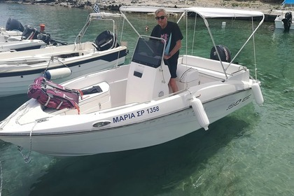 Charter Motorboat Compass 150 CC Rhodes