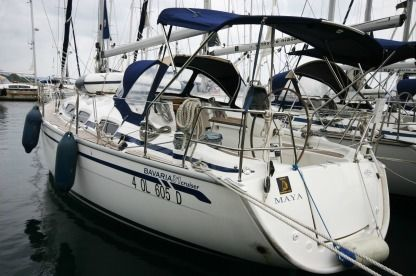 "Charter Sailboat Bavaria 31 Cruiser ""maya"" Portisco"