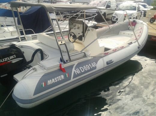 RIB Gommoni Master 660 for hire