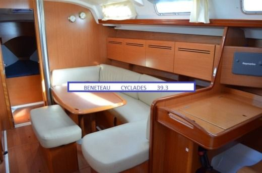 Beneteau Cyclades 39.3  With Skipper in Heraklion for hire