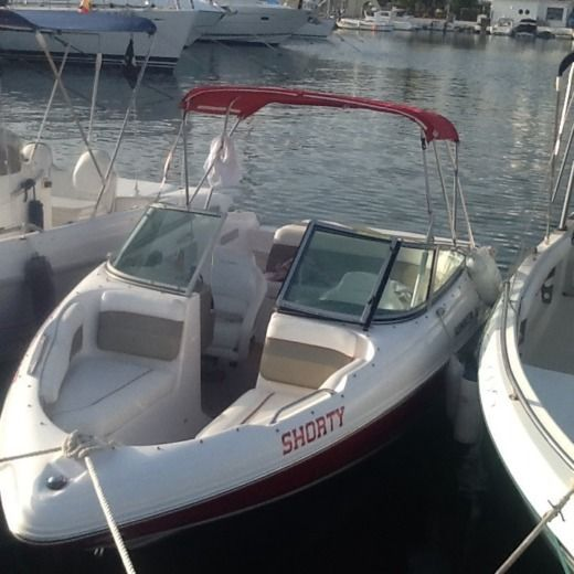 Rinker 192 in Moraira for rental