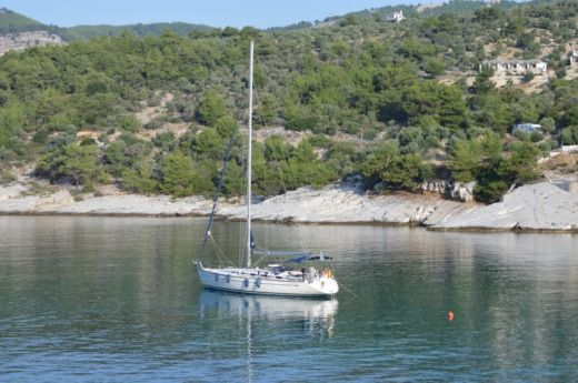 Rental sailboat in Kavala