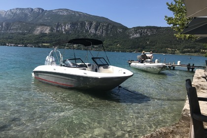 Rental Motorboat BAYLINER E6 Duingt