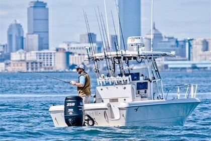 Alquiler Lancha Pro Line 26' Center Console Boston