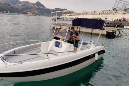 Verhuur Motorboot Allegra All 19 Taormina