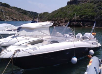Charter Motorboat Quicksilver 720 Commander Port d'Addaia