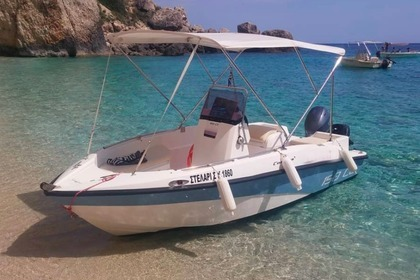 Rental Motorboat Compass 150cc Corfu