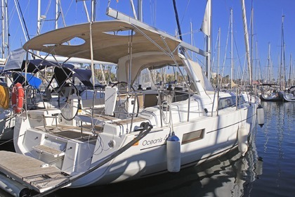 Hire Sailboat BENETEAU OCEANIS 41.1 Barcelona