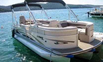 Rental Motorboat Harris 220 Murter