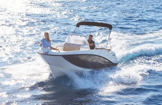 Quicksilver Activ 555 Open in Trogir for rental