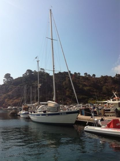 Location Voilier Hallberg Russy 42E Ketch Rosignano Solvay