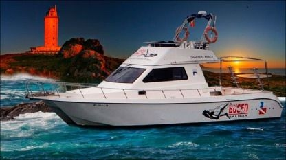 Charter Motorboat Cata 365 Flybridge A Coruña