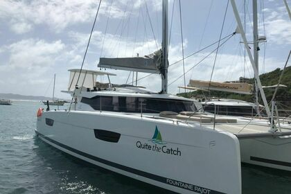 Rental Catamaran Fountaine Pajot Saona 47 O.V. with A/C Saint Thomas