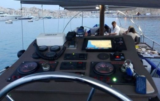 Traditional Maltese Boat Luxury Luzzu in Malta for hire