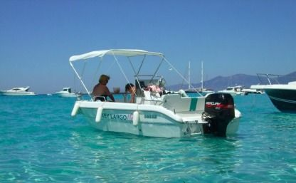 Rental Motorboat Sessa Marine Key Largo 18 Cannes