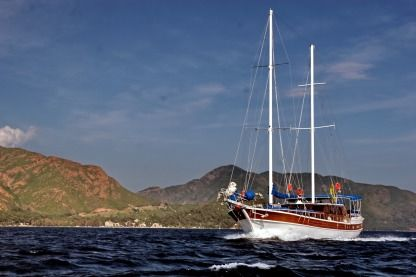 Miete Segelboot Rota Yachting Standart Gulet With 6 Cabins Marmaris