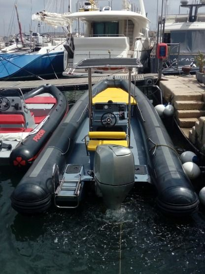 Location Semi-rigide Bwa 850 Alghero