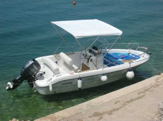 Motorboat Sessa Marine Largo 17 for hire