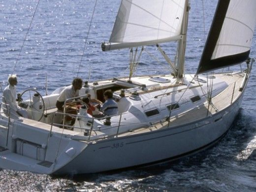 Sailboat Dufour 385 for hire
