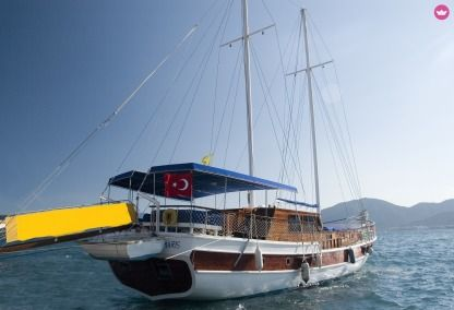 Charter Sailboat Rota Yachting Standart Gulet With 6 Cabin Kos