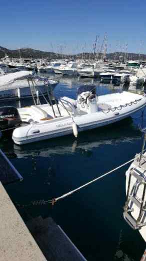 Lomac Nautica Beluga 21 in Cavalaire-sur-Mer for hire