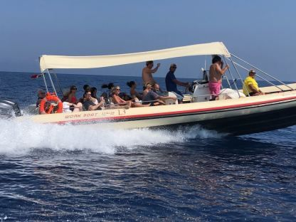 Rental RIB Work Boat 11 Leuca