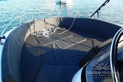 2015 OKIBOATS BARACCUDA 5,45 in Vodice for hire