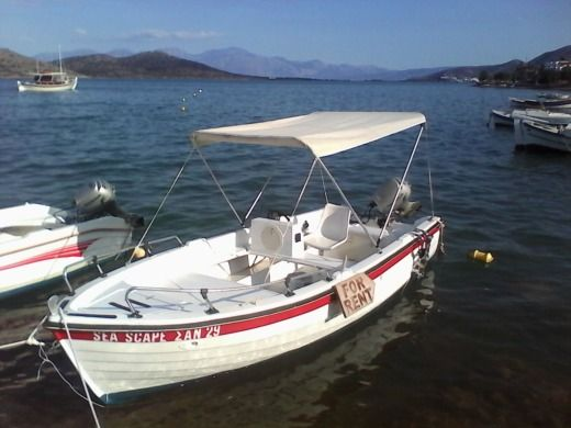 Motorboat Creta Navis - for hire