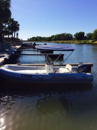 RIB CAPELLI TEMPEST 505 for hire