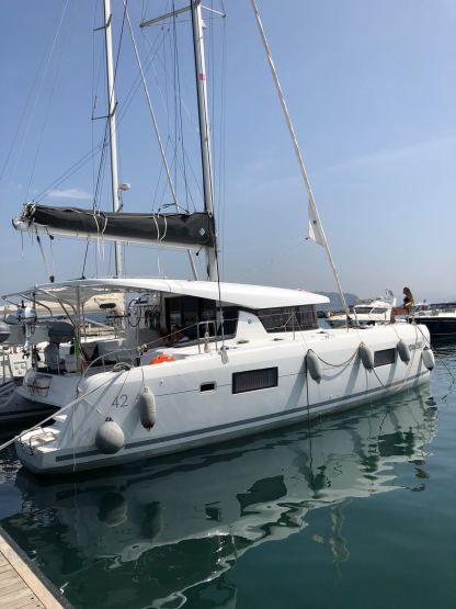 Location Catamaran Lagoon 42 Naples